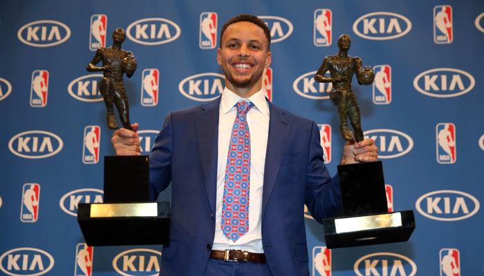 Curry logró su segundo MVP /Foto AP