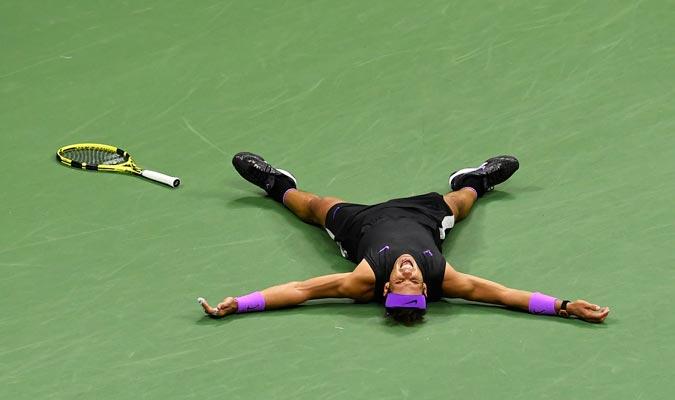 El español tras el punto del partido/ Foto AP