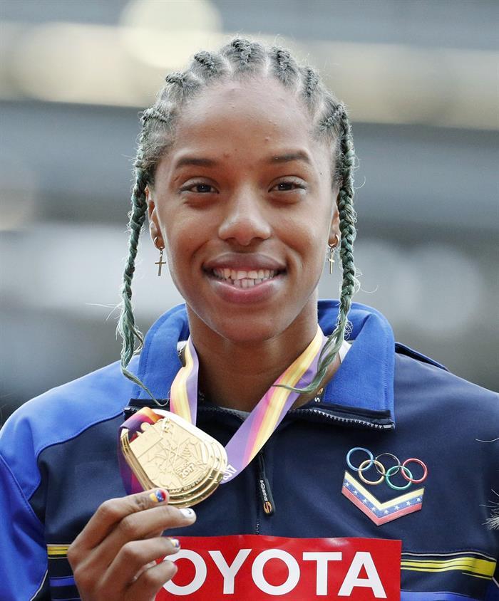 Una medalla de oro después de mucho trabajo /Foto EFE
