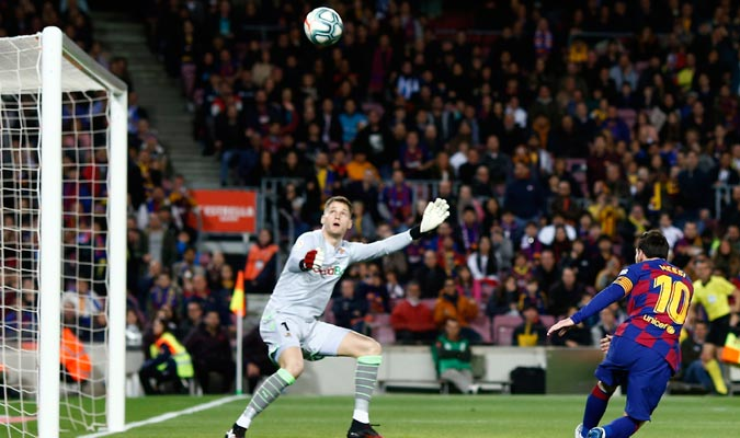 Messi desperdició una gran oportunidad/ Foto AP