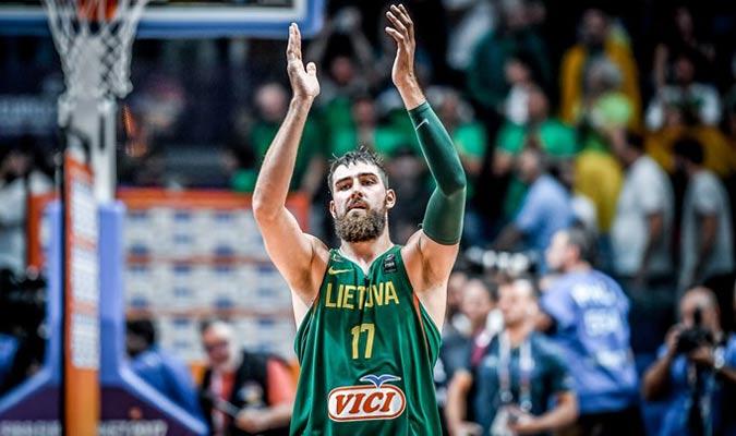 Jonas Valanciunas de Lithuania / Foto: Cortesía