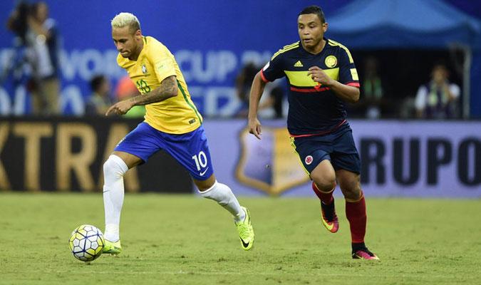 Nuevamente el astro Neymar fue la figura en el segundo triunfo de Tite en Eliminatorias 2-1 ante Colombia