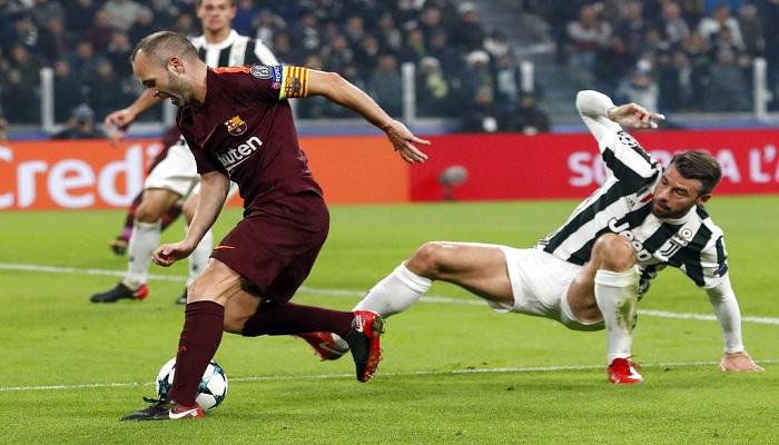 Iniesta en jugada | Foto: AP