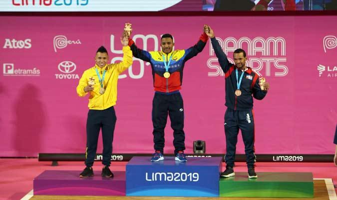 El podio completo / Foto: Panam Sports