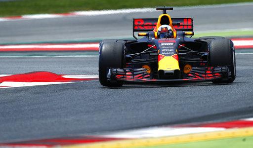 Ricciardo durante la carrera /Foto AP