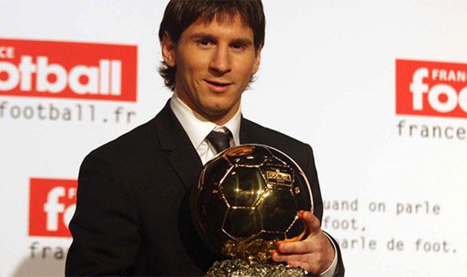 Messi conquistó su primer Balón de Oro en el 2009/ Foto Cortesía