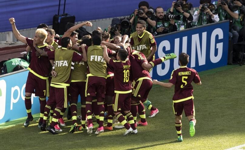 Los criollos celebraron el golazo de Córdova /Foto FIFA