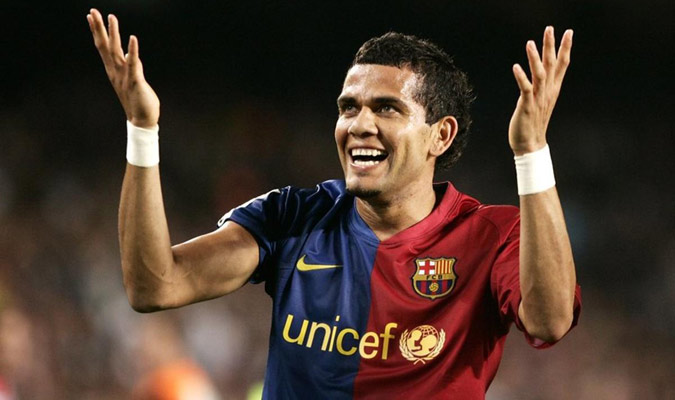 3- Dani Alves (Sevilla/Barcelona) con 110 asistencias/ Foto Cortesía