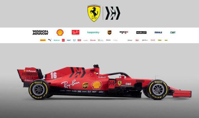 Ferrari se prepara para una nueva temporada de Fórmula 1/ Foto FERRARI PRESS OFFICE AFP