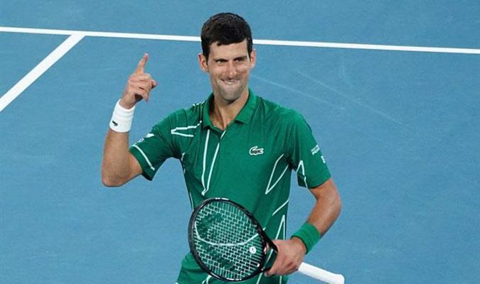 Djokovic batallará por retener el trofeo del Abierto de Australia/ Foto EFE