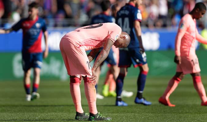 El Barcelona no pudo quedarse con los tres puntos/ Foto AP