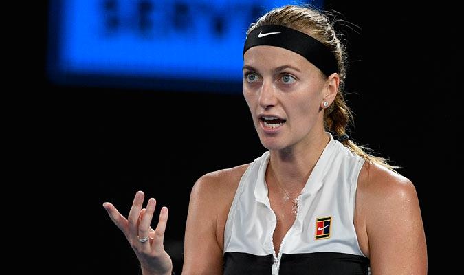 Kvitova siempre luchó por la victoria/ Foto AP