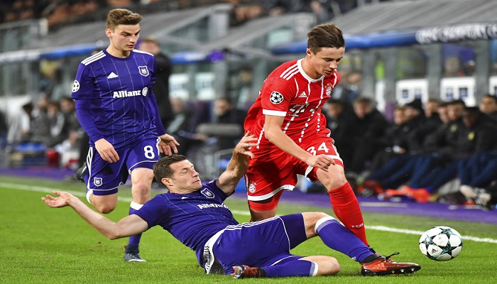 Bayern ganó al Anderlecht | Foto: AP