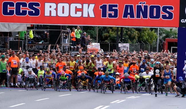 La categoría de atletas con movilidad reducida también estuvo activa/Alberto Torres