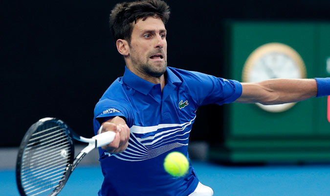 Djokovic demostró un gran nivel/ Foto AP