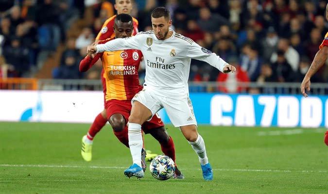 Hazard dejó detalles del gran jugador que es/ Foto EFE