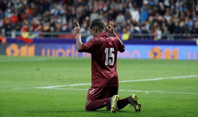 Murillo agradeció por el gol || Foto: EFE