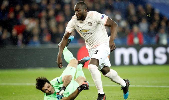 Lukaku fue el as del United // Foto: EFE