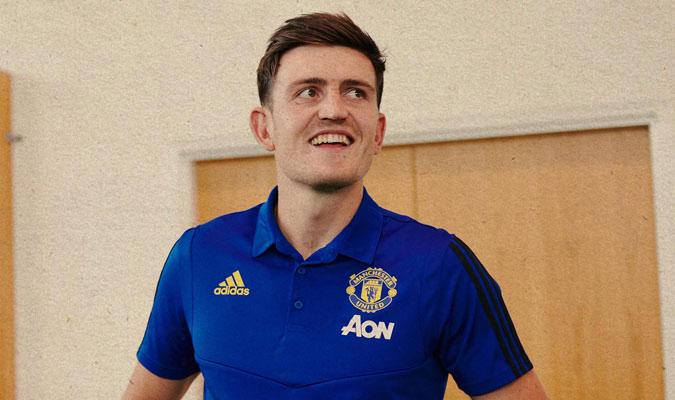 Maguire se mostró muy feliz al llegar a su nuevo club/ Foto @ManUtd