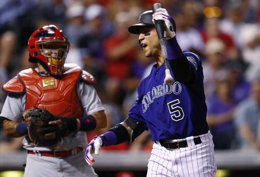Colorado espera extender el contrato de Carlos González /Foto AP