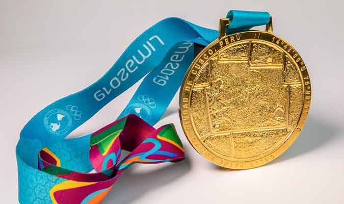 Medalla de oro / Foto: coarg