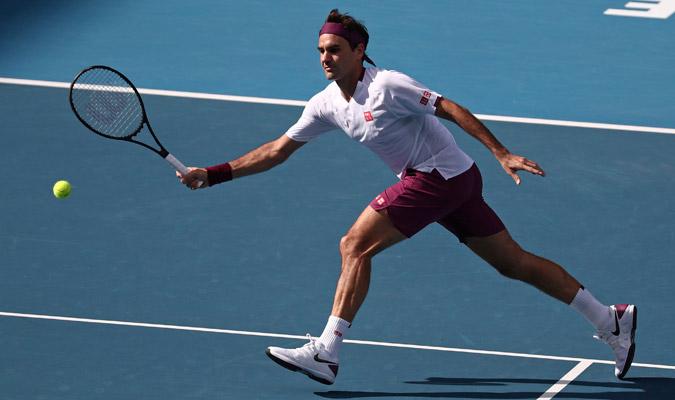 Roger Federer sufrió para vencer a Sandgren/ Foto AP