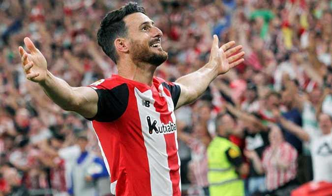 Su gol hizo estallar el estadio Nuevo San Mamés / Foto: EFE