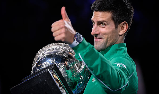 Djokovic acumula 17 trofeos de Grand Slam/ Foto AP