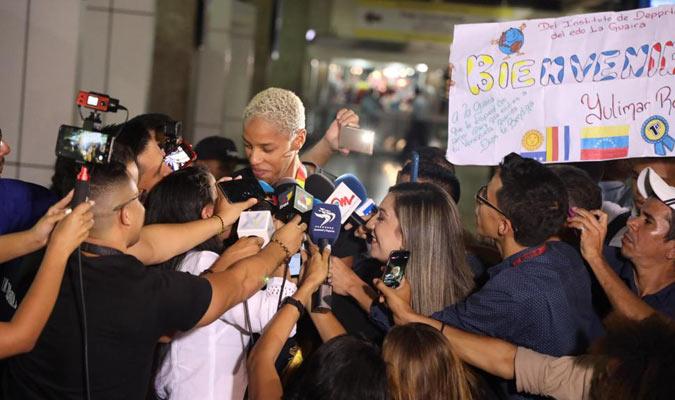 Rojas dio declaraciones a la prensa / Foto: Edixon Gámez