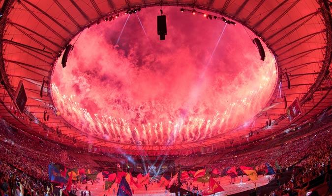 El estadio Maracaná no decepcionó con su espectáculo / Foto AP