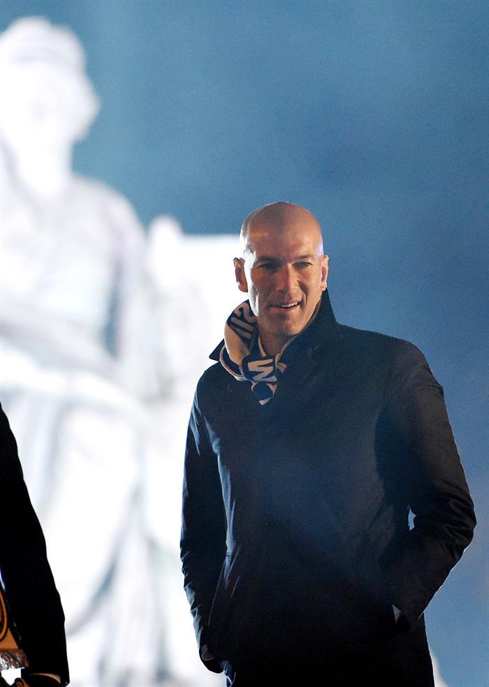 Zinedine Zidane, artífice del campeonato / Fuente EFE