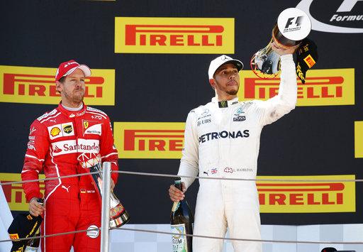 Hamilton sumó otro trofeo /Foto AP