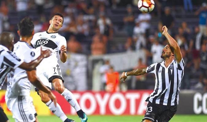 Wanderers y Olimpia no pasaron de la igualdad a cero goles | Foto: CONMEBOL