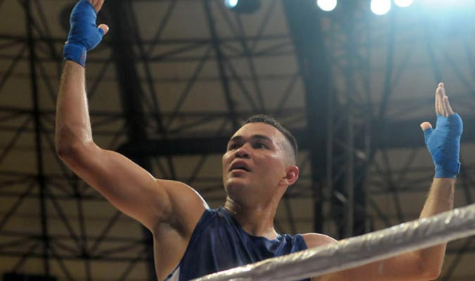 Endry Saavedra buscará una medalla en Río / Foto Karla Calderón