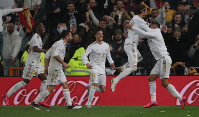 1. Real Madrid (3.905 millones de euros aprox.)