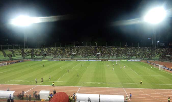 El Estadio de la UCV volvió a recibir una competición internacional || Foto: Carlos Chacón