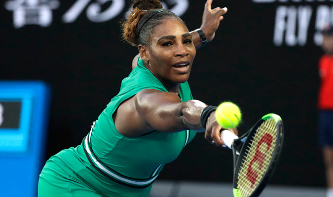 Serena se mostró segura en el momento crucial/ Foto AP
