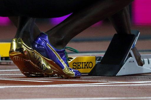 Los zapatos de la leyenda /Foto AP