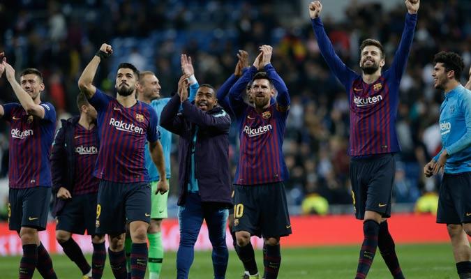 Con el triunfo alejaron al Madrid a 12 puntos/ Foto AP