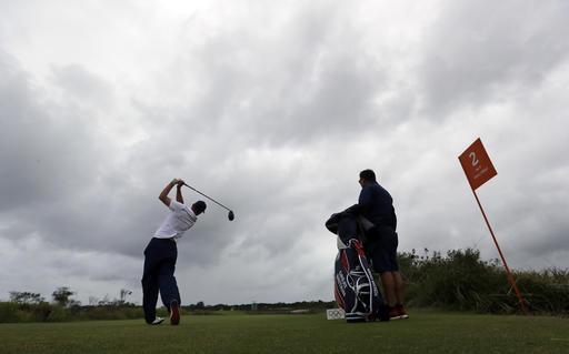 Gran imagen regala el golf /Foto AP