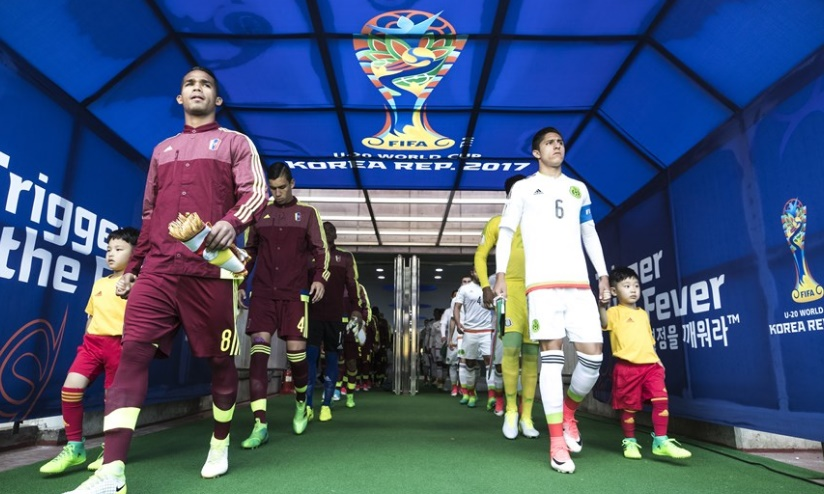 La salida al terreno /Foto FIFA
