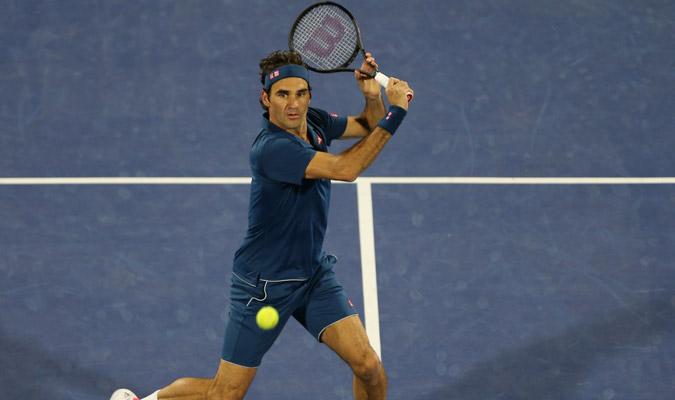 Roger salió enfocado para conseguir el triunfo/ Foto AP