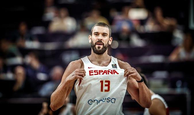 Marc Gasol de España / Foto: Cortesía