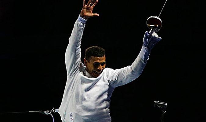 Rubén celebró el campeonato / Foto: Pedro Infante