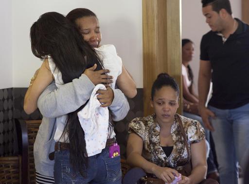 La madre de Yordano Ventura quedó desconsolada /Foto AP
