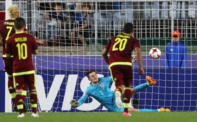 Peñaranda no logró convertir /Foto FIFA
