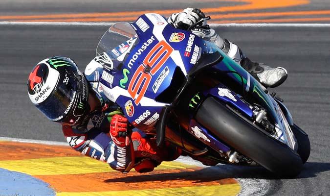 El español realizó una buena actuación en el GP de Valencia/ Foto AP