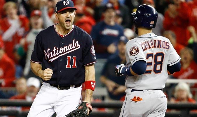Zimmerman celebra el último out de la primera entrada/ Foto AP