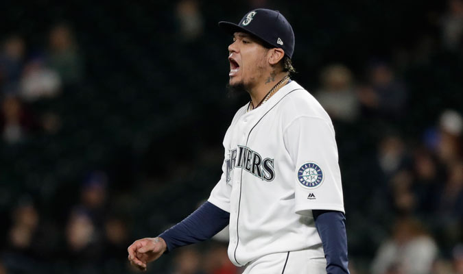 Hernández comenzó con buen pie la temporada/ Foto AP