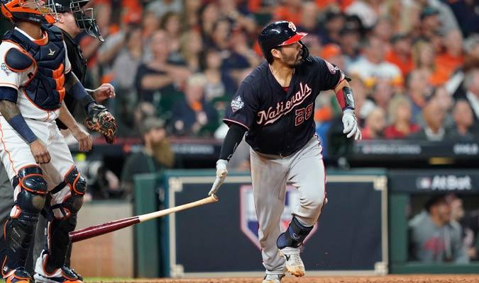 Suzuki impulsó a Washington con su vuelacerca/Foto AP